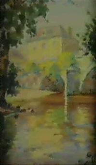 maison de bourg pres du pont a saint jean de cole (dordogne) by jacques bille