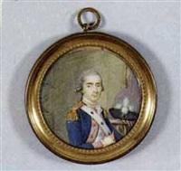 portrait d'eustache rené, marquis d'osmond by pierre le sage