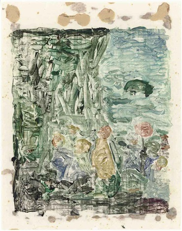 untitled by maurice brazil prendergast
