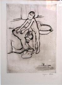 catherine et jeune garçon nu by suzanne valadon