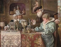 the connoisseurs by ludwig augustin