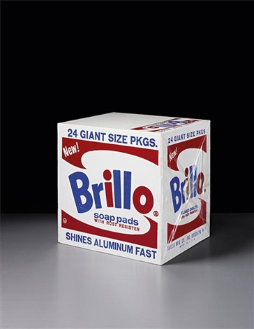 brillo soap pads box by andy warhol