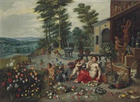 allégorie de l'odorat by jan brueghel the younger