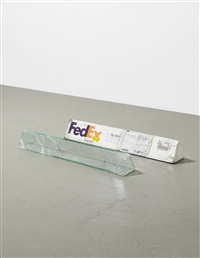 fedex tube 2005 fedex 139752 rev 10/05 sscc, standard overnight, los angeles - beverly hills trk# 872671828542, february 22-23, 2012, standard overnight... by walead beshty