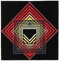 chromatic penetration carpet by herbert bayer