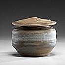 lidded vessel by karen karnes