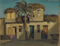 maisons arabes à talkha by mahmoud said