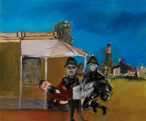 kelly and lonigan by sidney nolan