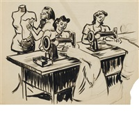 seamstresses by dox thrash