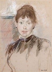 l'anglaise by berthe morisot