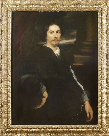 portrait dhomme à lépée by sir anthony van dyck