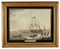royal bounty of leith prosecuting the fishing in davis straits by janet wadell
