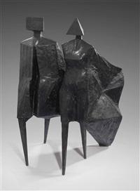 maquette iv jubilee iii by lynn chadwick