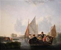 the ferry by leendert de koningh