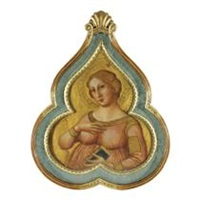 saint cecilia by romano antoniazzo