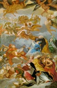 allégorie de l'église by vito d' anna