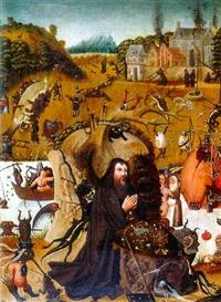 la tentation de saint-antoine by pieter huys