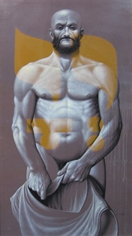 god in man #11, naked came i (job) by leonard everett fisher