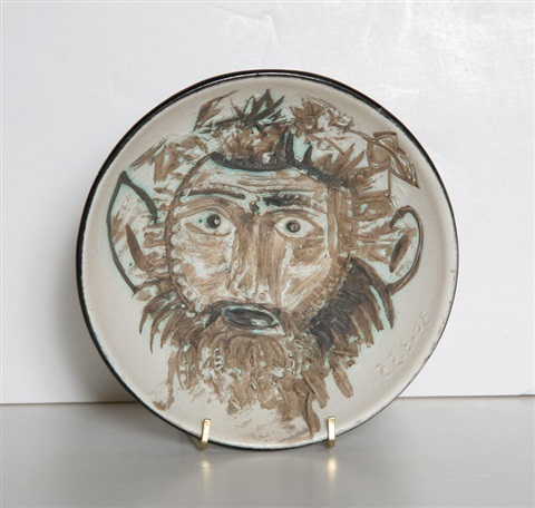 fauns face by pablo picasso