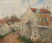 rue à pissefontaine by gustave loiseau