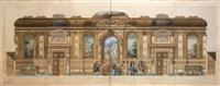 projet de restauration du château d'altenhaus goldenberg by françois victor adolphe riglet