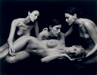 untitled (nudes) by michel comte