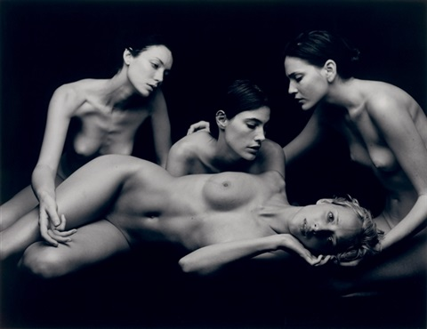 untitled nudes by michel comte