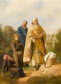 the peasant burial by nikolaj wassilijewitsch newreff