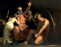 oedipe maudissant son fils polynice by henry fuseli