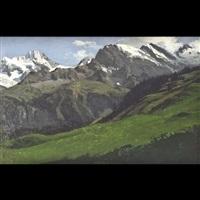 paesaggio alpino by carl julius e. ludwig