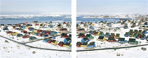 untitled archive n° 7688 archive 7689 from ilulissat greenland 2 works by joël tettamanti