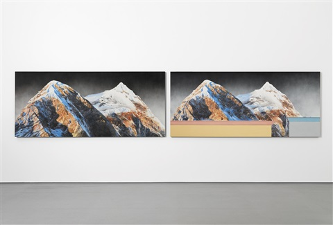 higher standards lower prices diptych by ed ruscha