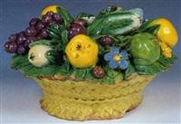 canestro di frutta by luca della robbia the younger