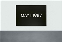 may 1 by on kawara