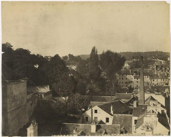 sèvres et ses environs manufacture vue de la ville de sèvres prise de la manufacture by henri victor regnault