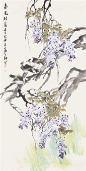 花鸟 by liu bin