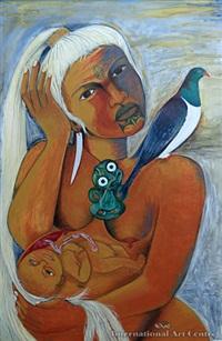 hapu (taranga) by robyn kahukiwa