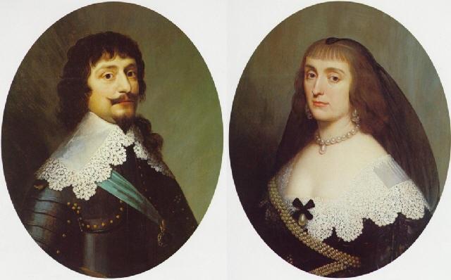 portrait of a gentleman bust length wearing armor and blue sash a portrait of a lady bust length by willem van honthorst
