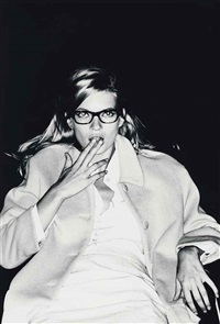 kate moss at the cinema, nyc by ellen von unwerth
