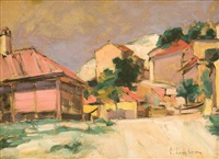 houses in balcic by corneliu liuba