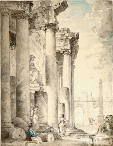 architecture animée by giovanni paolo panini