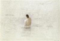 der schwimmer ii by eduard angeli