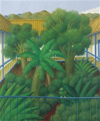 the patio by fernando botero
