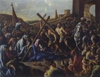 le portement de croix by le nain brothers