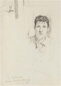 self-portrait by lucian freud