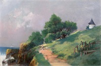 chemin côtier by gaston anglade