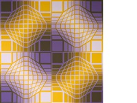 mely by victor vasarely