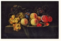 nature morte aux fruits by david davidsz de heem the younger