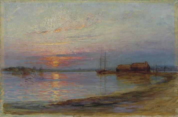 sunset by tudor st. george tucker
