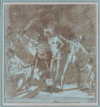la flagellation by giovanni bilivert